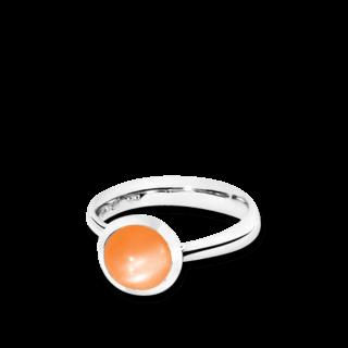 Tamara Comolli Ring Bouton Small Mondstein Orange R-BOU-S-MOOR-WG
