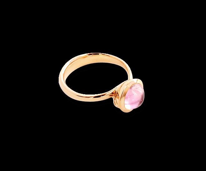 Ring Tamara Comolli Bouton Small Rosa Turmalin aus 750 Roségold mit 1 Turmalin