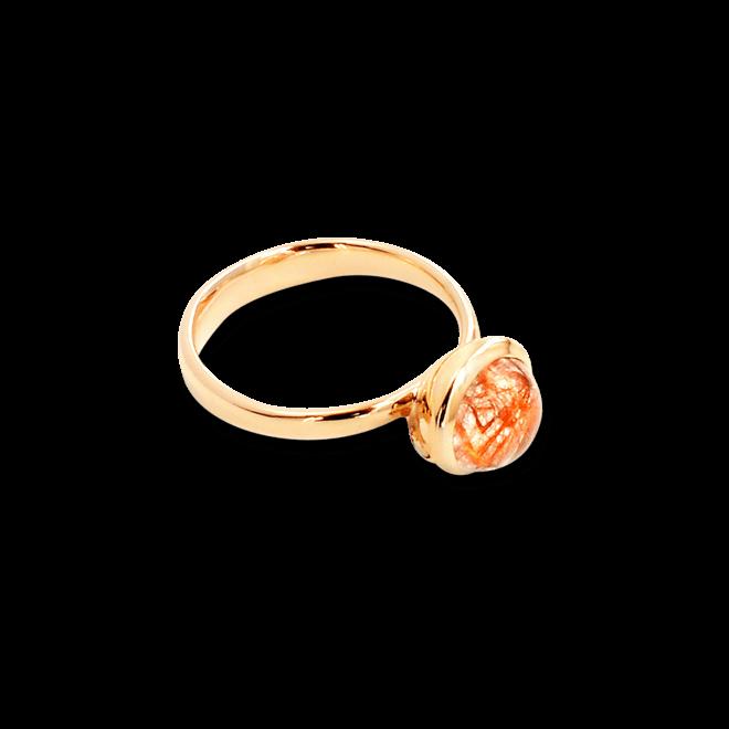 Ring Tamara Comolli Small Rutilquarz aus 750 Roségold mit 1 Rutilquarz
