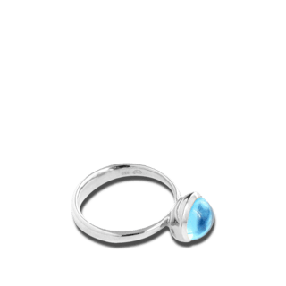 Tamara Comolli Ring Bouton Small Swiss Topas R-BOU-S-TOSW-WG
