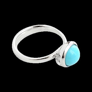 Tamara Comolli Ring Bouton Small Türkis R-BOU-S-TUR-WG