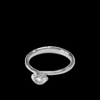 Tamara Comolli Ring Bouton Solitär Diamant R-BOU-0.25-CL-WG