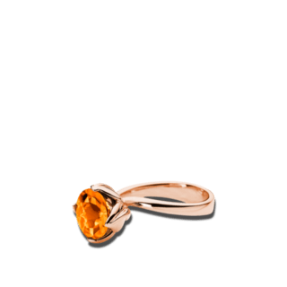 Tamara Comolli Ring Tulip S Mandarin-Granat R-TUL-S-MAN-RG