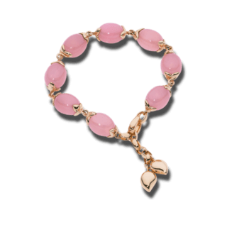 Tamara Comolli Armband Coconut Large Chalcedony Pink B-CO-L-LV-CHPI-RG