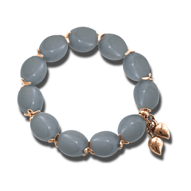 Armband Tamara Comolli Coconut Slipon Moonstone aus 750 Roségold mit mehreren Mondsteinen