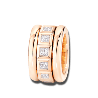 Tamara Comolli Ring Ring Rosègold R-CV77-13-PRL-RG