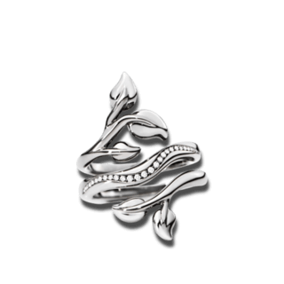 Tamara Comolli Ring Fairy Loop Pavéline R-FAI-LO-PL-WGB
