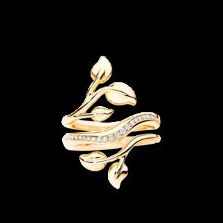 Tamara Comolli Ring Fairy Loop Pavéline R-FAI-LO-PL-YG