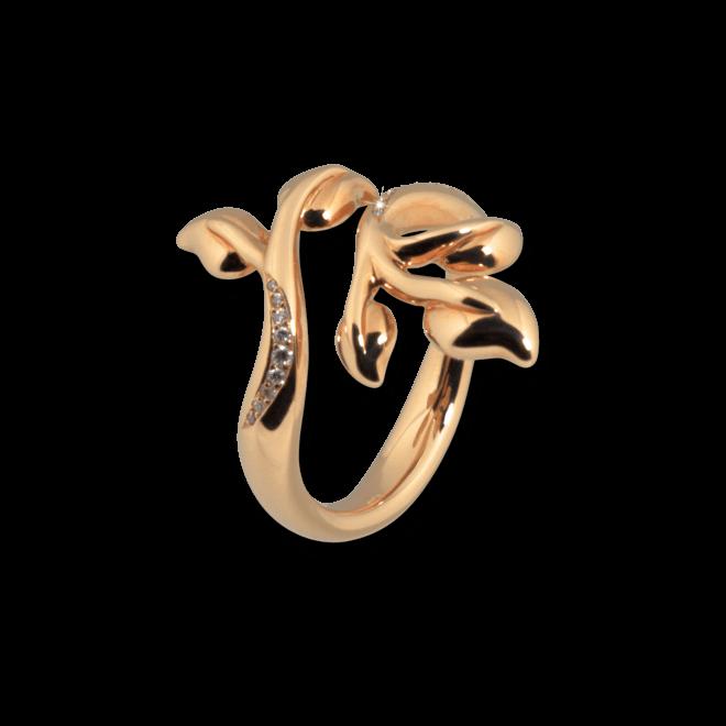 Ring Tamara Comolli Fairy Pavéline aus 750 Roségold mit mehreren Brillanten (0,06 Karat)