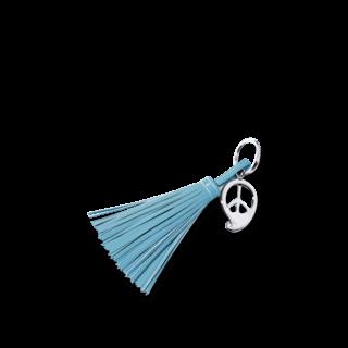Tamara Comolli Schlüsselanhänger Peace Blue A-KEY-PCE-BLUE-ST