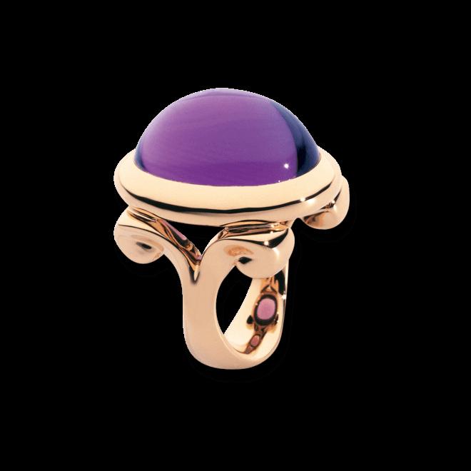 Ring Tamara Comolli Hippie Glam Amethyst Large aus 750 Roségold mit 1 Amethyst