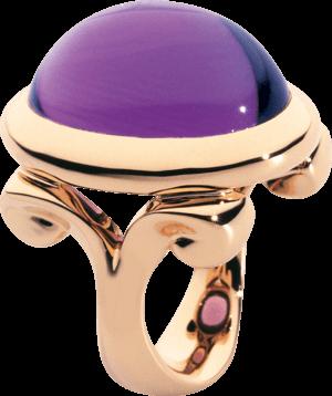 Ring Tamara Comolli Hippie Glam Amethyst aus 750 Roségold mit 1 Amethyst