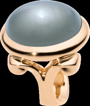 Ring Tamara Comolli Hippie Glam Grauer Mondstein aus 750 Roségold mit 1 Mondstein