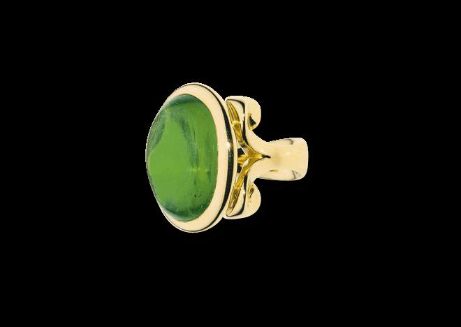 Ring Tamara Comolli Hippie Glam Grüner Turmalin Large aus 750 Gelbgold mit 1 Turmalin