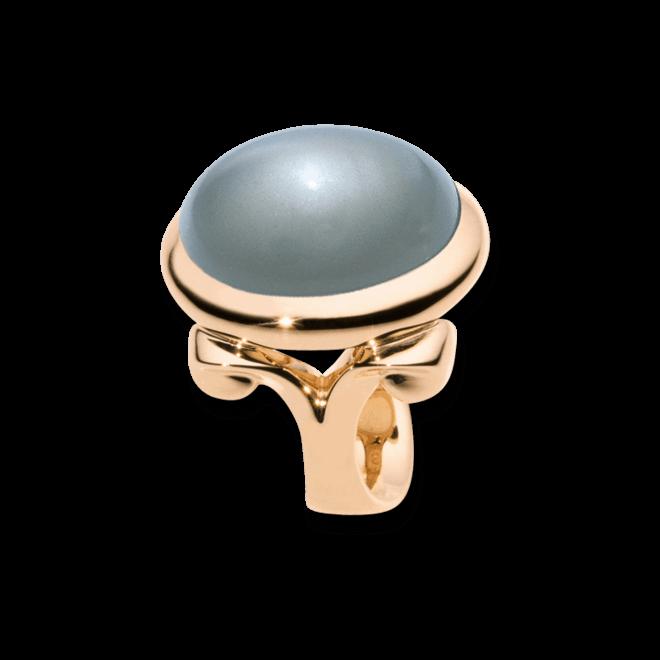 Ring Tamara Comolli Hippe Glam Grauer Mondstein Small aus 750 Roségold mit 1 Mondstein
