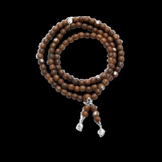 Tamara Comolli Armband und Halskette India Agar Wood Medium B-IND-AW-S-8CA-WG