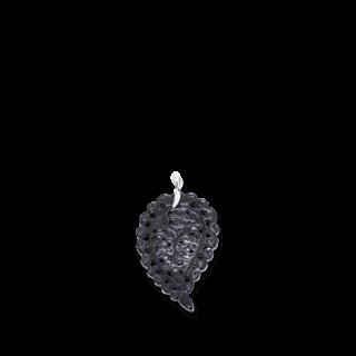 Tamara Comolli Anhänger India Leaf Medium Black Onyx P-IND-ONBL-M-WG