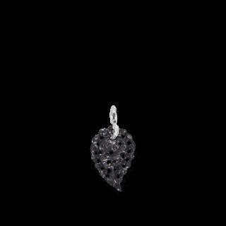 Tamara Comolli Anhänger Leaf Small Black Onyx P-IND-S-BLA-WG