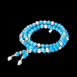 Tamara Comolli Armband und Halskette Türkis B-IND-TUR-M-WG