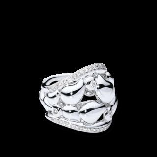 Tamara Comolli Ring Lace Large R-LAC-PL-L-WG