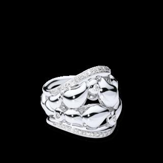 Tamara Comolli Ring Lace Medium R-LAC-PL-M-WG