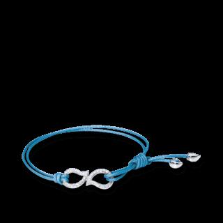 Tamara Comolli Armband Charmlets Eternity Pavéline B-CH-DR-PL-L-BLUE-WG