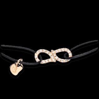 Tamara Comolli Armband Charmlets Eternity Pavéline B-CH-DR-PL-S-BLACK-RG