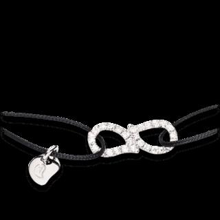 Tamara Comolli Armband Charmlets Eternity Pavéline B-CH-DR-PL-S-BLACK-WG