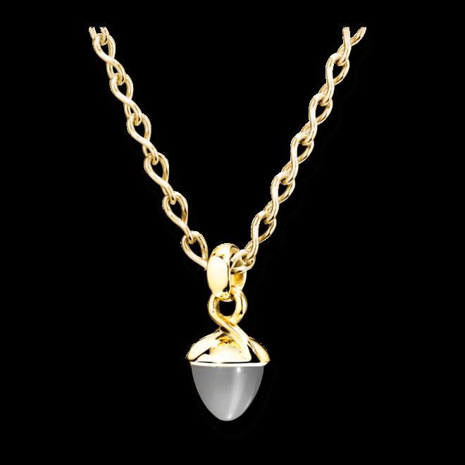 Anhänger Tamara Comolli Mikado Bouquet Grauer Mondstein aus 750 Gelbgold mit 1 Mondstein