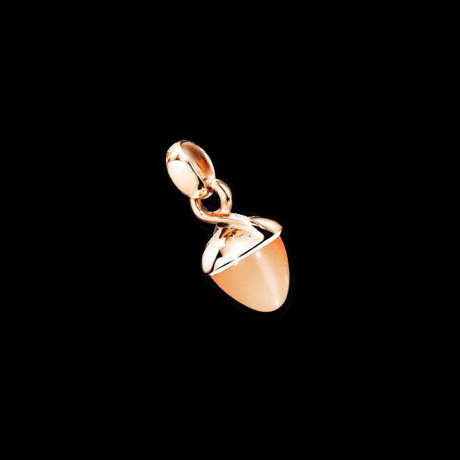 Anhänger Tamara Comolli Mikado Bouquet Orangefarbener Mondstein aus 750 Roségold mit 1 Mondstein