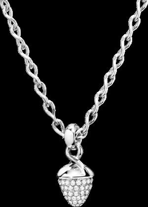 Anhänger Tamara Comolli Mikado Bouquet Pavé aus 750 Weißgold mit 1 Diamant (1,2 Karat)