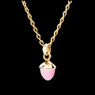 Tamara Comolli Anhänger Mikado Bouquet Pinkfarbener Chalcedon P-MB-CHPI-YG