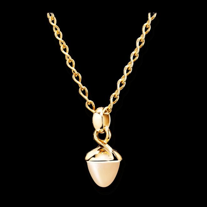 Anhänger Tamara Comolli Mikado Bouquet Sand-Mondstein aus 750 Gelbgold mit 1 Mondstein