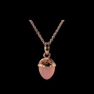 Tamara Comolli Anhänger Mikado Bouquet XL Fairy Pinkfarbener Chalcedon P-MB-XL-F-CHPI-RG