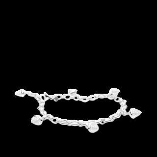 Tamara Comolli Armband mit Anhänger Mikado Charm Pavé B-MC-CH-P-WG