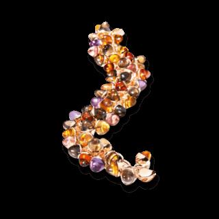 Tamara Comolli Armband Mikado Flamenco Chestnut B-MFL-CHE-RG