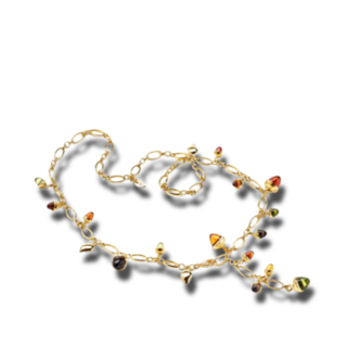 Tamara Comolli Armband und Halskette Indian Summer N-M-56-IS-YG