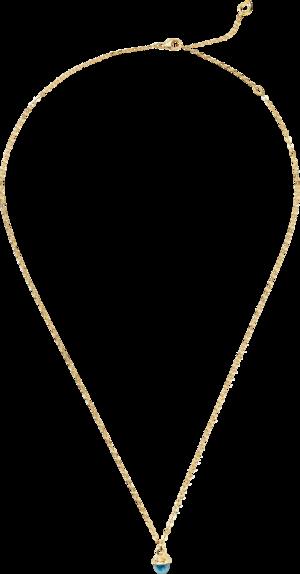 Halskette mit Anhänger Tamara Comolli myMIKADO aus 750 Gelbgold mit 1 Swiss-Topas