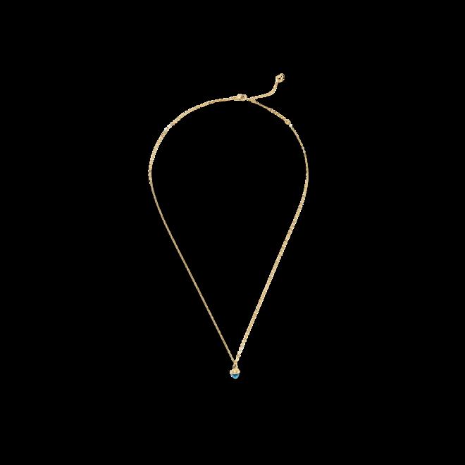 Halskette mit Anhänger Tamara Comolli myMIKADO aus 750 Gelbgold mit 1 Swiss-Topas bei Brogle