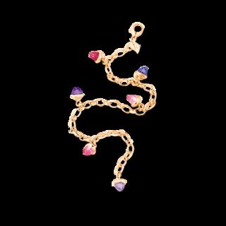 Tamara Comolli Armband mit Anhänger Mikado Wildberry B-MC-CH-WB-YG