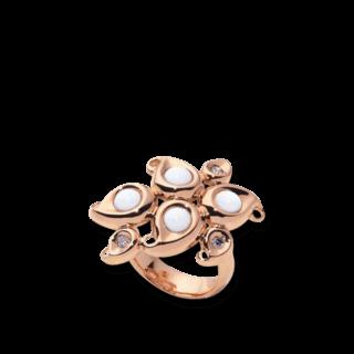 Tamara Comolli Ring Paisley Flower Empire R-PS-FLO-SA-EMP-RG