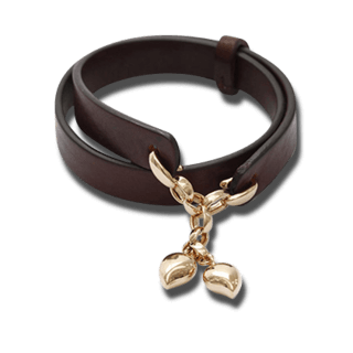 Tamara Comolli Armband Leather Loop B-LL-DR-COFFEE-RG