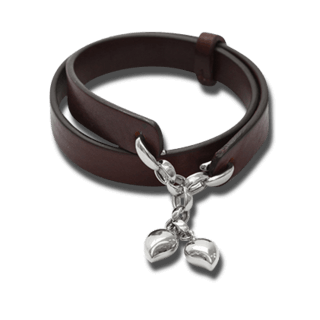 Tamara Comolli Armband Leather Loop B-LL-DR-COFFEE-WG