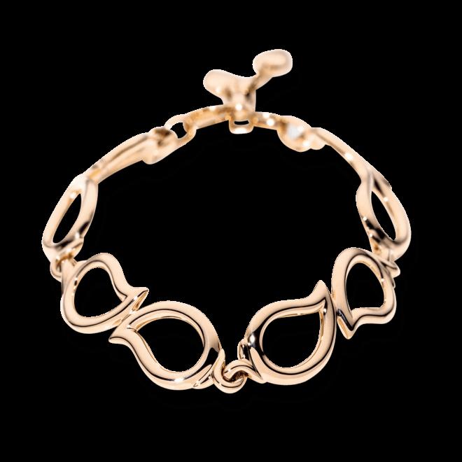Armband mit Anhänger Tamara Comolli Signature aus 750 Roségold Größe S