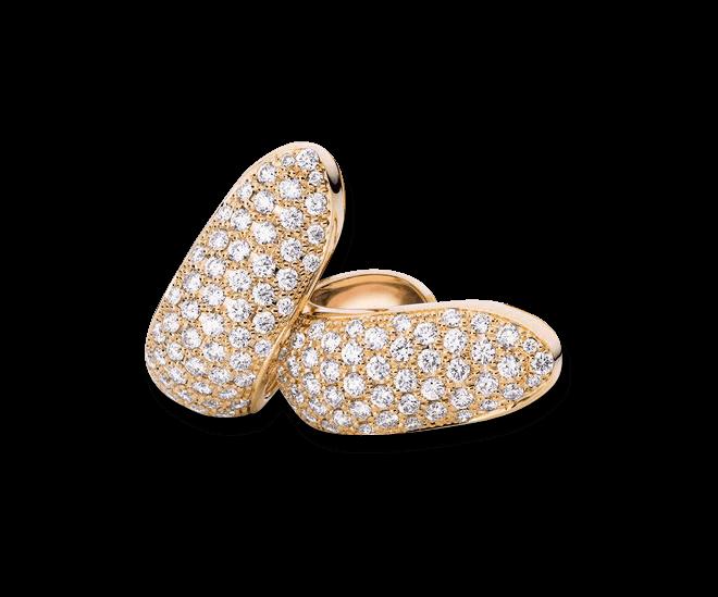 Ohrclip Tamara Comolli Signature Clips XL aus 750 Roségold mit mehreren Diamanten (2 x 1,9 Karat)