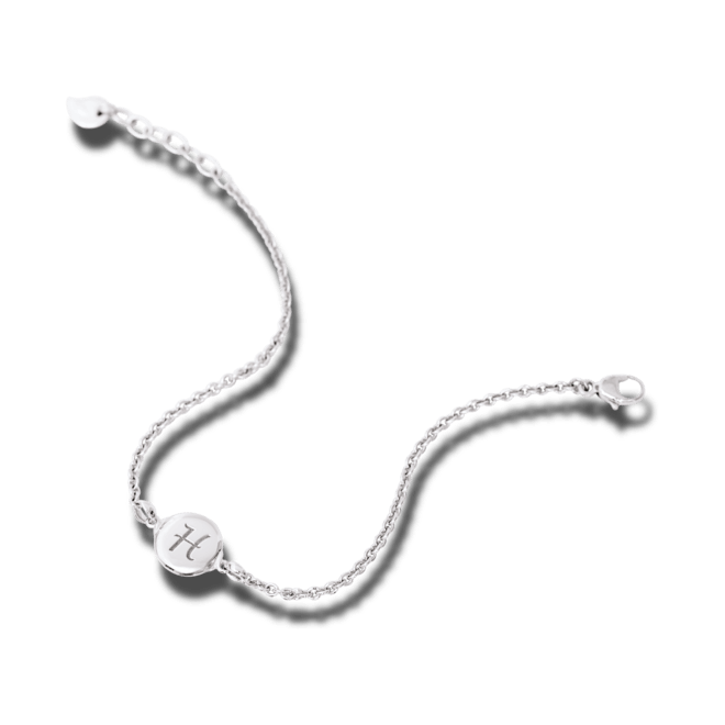 Armband Tamara Comolli Darling Medium aus 750 Weißgold Größe M