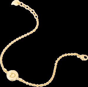 Armband Tamara Comolli Darling Medium aus 750 Gelbgold Größe M