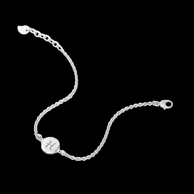 Armband Tamara Comolli Darling Small aus 750 Weißgold Größe S