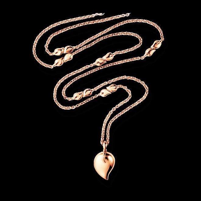 Halskette mit Anhänger Tamara Comolli Drop aus 750 Roségold