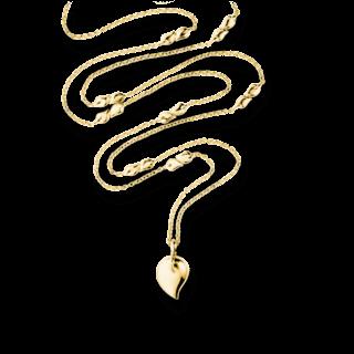 Tamara Comolli Halskette mit Anhänger Signature Drop N-DR-YG